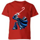star-wars-candy-cane-darth-vader-kids-christmas-t-shirt-red-5-6-jahre-rot