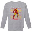 marvel-iron-man-kids-christmas-sweatshirt-grey-3-4-jahre-grau