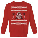 star-wars-darth-vader-knit-kids-christmas-sweatshirt-red-3-4-jahre-rot