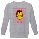 marvel-iron-man-face-kids-christmas-sweatshirt-grey-3-4-jahre-grau