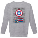 marvel-captain-america-kids-christmas-sweatshirt-grey-3-4-jahre-grau