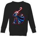 star-wars-candy-cane-darth-vader-kids-christmas-sweatshirt-black-3-4-jahre-schwarz