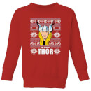 marvel-thor-face-kids-christmas-sweatshirt-red-3-4-jahre-rot