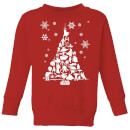 star-wars-character-christmas-tree-kids-christmas-sweatshirt-red-9-10-jahre-rot