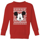 disney-mickey-face-kids-christmas-sweatshirt-red-9-10-jahre-rot