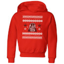 star-wars-darth-vader-knit-kids-christmas-hoodie-red-3-4-jahre-rot, 28.99 EUR @ sowaswillichauch-de