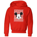 disney-mickey-face-kids-christmas-hoodie-red-9-10-jahre-rot
