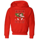 disney-tree-mickey-kids-christmas-hoodie-red-9-10-jahre-rot