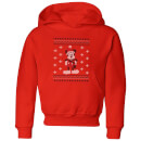 disney-mickey-scarf-kids-christmas-hoodie-red-9-10-jahre-rot