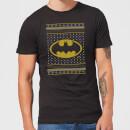 dc-batman-knit-herren-christmas-t-shirt-schwarz-l-schwarz