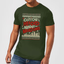 elf-cotton-headed-ninny-muggins-knit-men-s-christmas-t-shirt-forest-green-s-forest-green