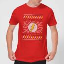 dc-flash-knit-herren-christmas-t-shirt-rot-l-rot