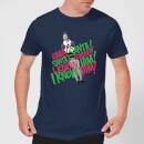 elf-santa-i-know-him-men-s-christmas-t-shirt-navy-xxl-marineblau
