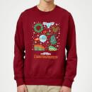 national-lampoon-griswold-christmas-starter-pack-weihnachtspullover-burgunderrot-s-burgunderrot