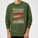 elf-cotton-headed-ninny-muggins-knit-christmas-sweatshirt-forest-green-s-forest-green, 20.49 EUR @ sowaswillichauch-de