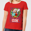 nintendo-super-mario-happy-holidays-mario-women-s-christmas-t-shirt-red-s-rot