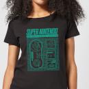 nintendo-super-nintendo-entertainment-system-blueprint-women-s-t-shirt-black-xs-schwarz