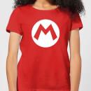 nintendo-super-mario-logo-women-s-t-shirt-red-xs-rot
