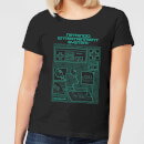 nintendo-nes-controller-blueprint-women-s-t-shirt-black-4xl-schwarz