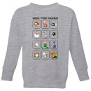 nintendo-super-mario-know-your-enemies-kid-s-sweatshirt-grey-3-4-jahre-grau