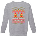 nintendo-super-mario-ho-ho-ho-its-a-me-kid-s-christmas-sweatshirt-grey-5-6-jahre-grau