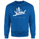 how-ridiculous-xliv-script-sweatshirt-royal-blue-m-royal-blue