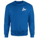 how-ridiculous-xliv-script-pocket-sweatshirt-royal-blue-l-royal-blue, 28.99 EUR @ sowaswillichauch-de