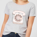 barlena-phone-call-women-s-t-shirt-grey-l-grau