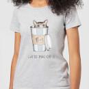 barlena-latte-mac-cat-o-women-s-t-shirt-grey-s-grau