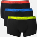 Emporio Armani Men's 3 Pack Boxer Shorts Black S Black