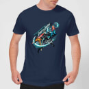 Camiseta DC Comics Aquaman Fight for Justice - Hombre - Azul marino - XL - azul marino azul marino XL