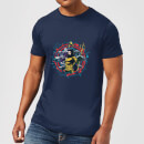 aquaman-circular-portrait-herren-t-shirt-navy-blau-xxl-marineblau