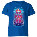 aquaman-mera-hourglass-kids-t-shirt-royal-blue-7-8-jahre-royal-blue