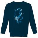 fantastic-beasts-newt-silhouette-kids-sweatshirt-navy-3-4-jahre-marineblau