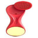 Image of BeGlow Limited Edition Tia Rouge: sistema sonico di cura della pelle tutto in uno - rosso 706502808921