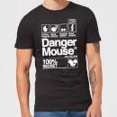 danger-mouse-100-secret-herren-t-shirt-schwarz-xxl-schwarz