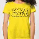 danger-mouse-target-women-s-t-shirt-yellow-m-gelb