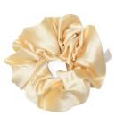 Image of Holistic Silk Pure Silk Scrunchie - Cream 5060339333700