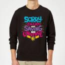 captain-marvel-sorry-i-m-late-sweatshirt-black-xl-schwarz