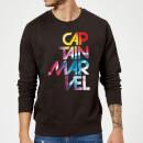 captain-marvel-galactic-text-sweatshirt-black-xl-schwarz
