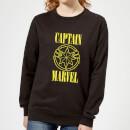 captain-marvel-grunge-logo-women-s-sweatshirt-black-xl-schwarz