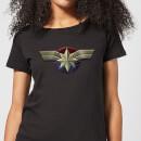 captain-marvel-chest-emblem-women-s-t-shirt-black-l-schwarz