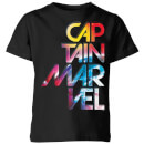 captain-marvel-galactic-text-kids-t-shirt-black-9-10-jahre-schwarz