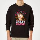 looney-tunes-crazy-in-love-taz-sweatshirt-black-3xl-schwarz