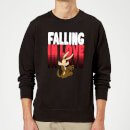 looney-tunes-falling-in-love-wile-e-coyote-sweatshirt-black-s-schwarz