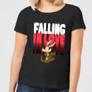 looney-tunes-falling-in-love-wile-e-coyote-women-s-t-shirt-black-xs-schwarz