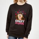 looney-tunes-crazy-in-love-taz-women-s-sweatshirt-black-3xl-schwarz