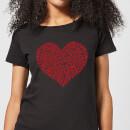 super-mario-items-heart-women-s-t-shirt-black-xs-schwarz