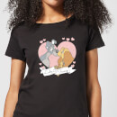 disney-lady-and-the-tramp-love-women-s-t-shirt-black-xl-schwarz