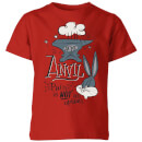 looney-tunes-acme-anvil-kids-t-shirt-red-11-12-jahre-rot